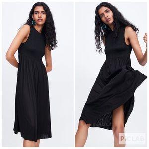 Zara Dresses - NWT • Zara • Elasticized Dress